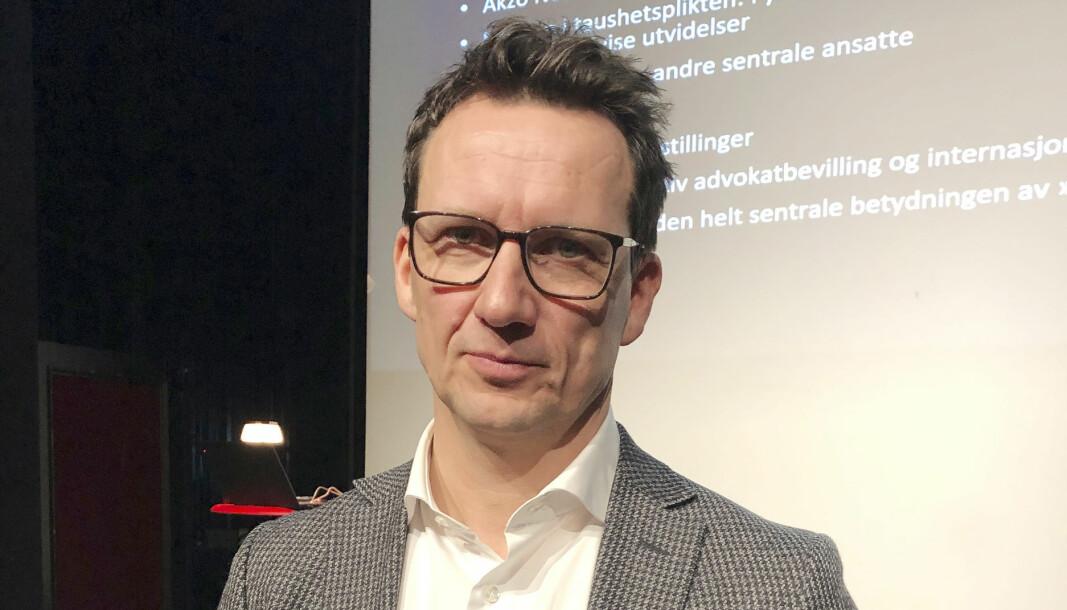 – Det blir et krevende studium, sier Morten Kinander.