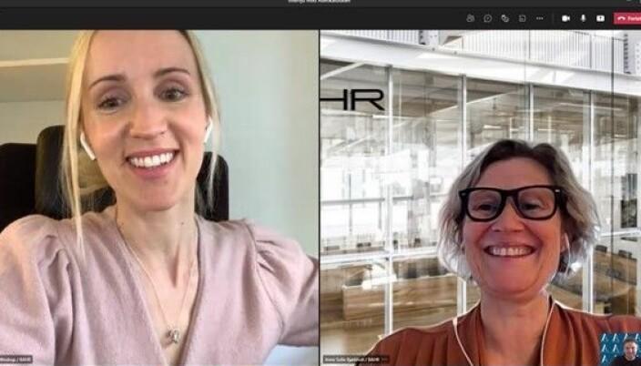 – Vi ser også en utvikling i markedet der bærekraft i alle former brer om seg, sier Anne Sofie Bjørkholt og Ida Marie Windrup i BAHR som møtte Advokatbladet til en digital prat om fremtidens advokatbransje.