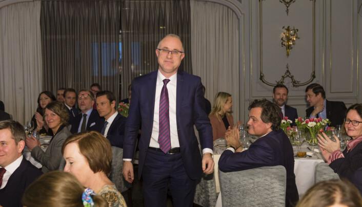 Tarjei Torkildsen, her fra da han i 2019 ble stemt frem som landets fremste arbeidsrettsadvokat i Finansavisens advokatundersøkelse. På plassen etter fulgte Line Andersens advokat Tron Dalheim.