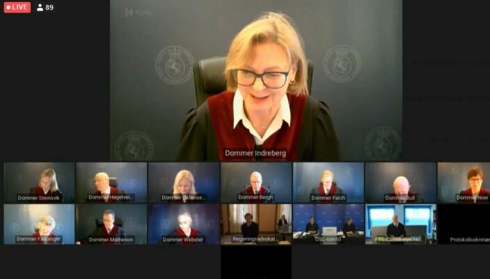 Dommer Hilde Indreberg ledet saken.