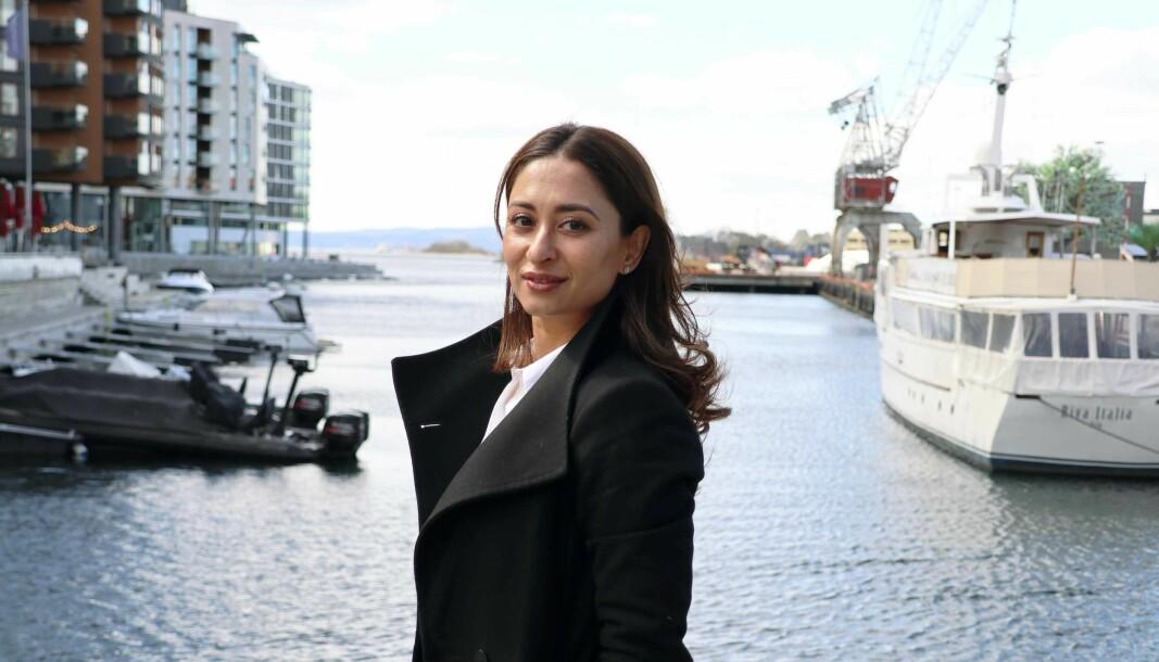 Uzma Bhatti har siden høsten 2019 vært advokatfullmektig i Grette, etter en lengre karriere inhouse.
