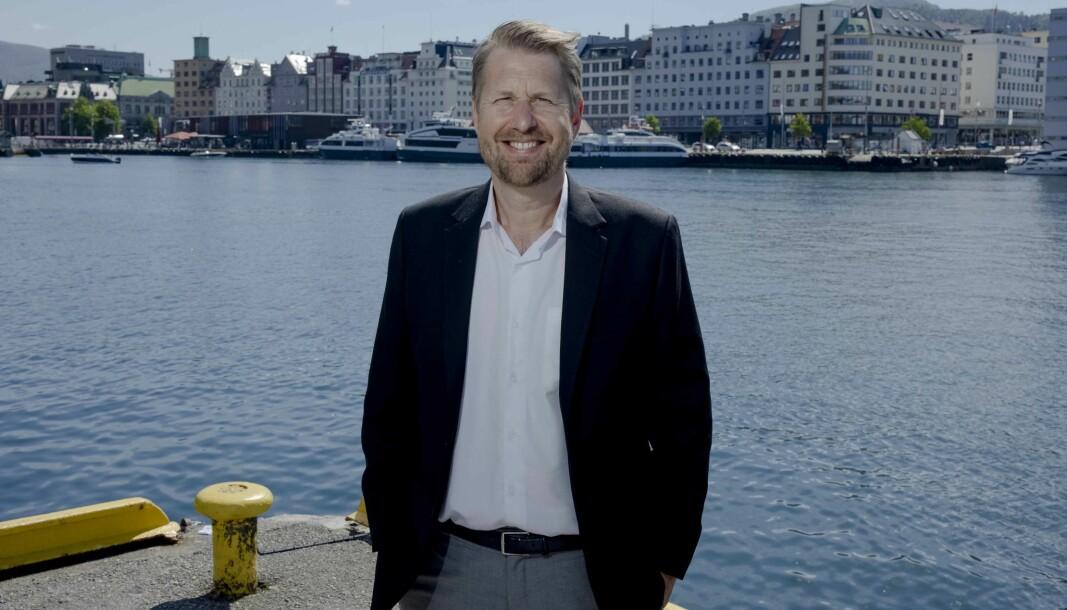 Olav Pedersen skal fortsette som managing partner i Harris.