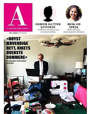 Fotoet av Frode Sulland har stått som et symbol på ulik utrustning i fjernmøter, sa Toril Marie Øie.