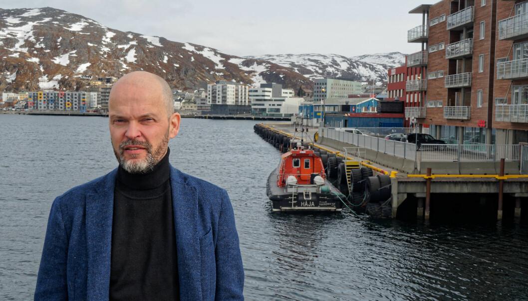 I Hammerfest er det for tiden bare ett advokatkontor, forteller Espen Rønning.