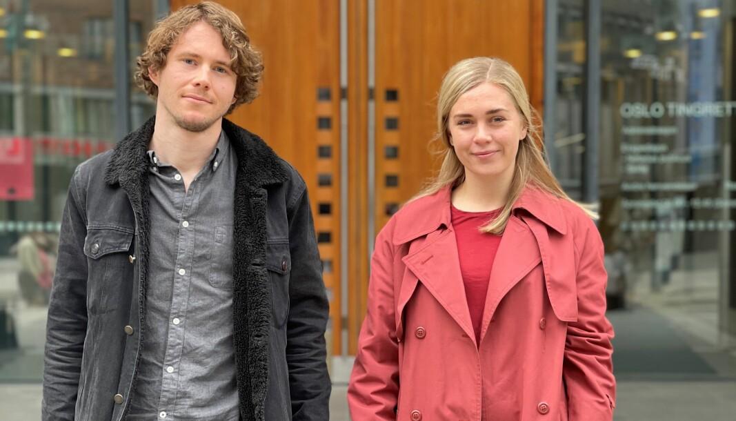– Advokatfullmektigene må ha et bevisst forhold til at de er i en opplæringsstilling, sier Kasper Grøtvedt Nilsen og Fride Wirak.