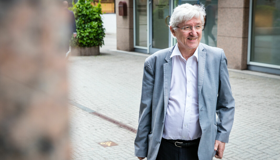Arvid Sjødin har grunn til å smile etter at Gjenopptakelseskommisjonens flertall bestemte seg for å gjenåpne Baneheia-saken.
