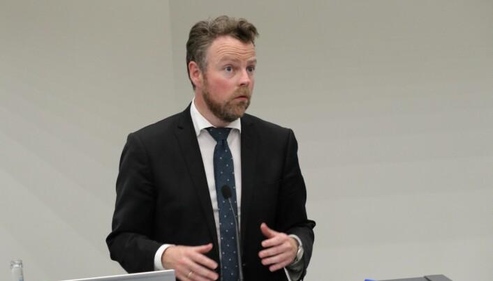 Torbjørn Røe Isaksen takket gruppen og sekretariatet som har utarbeidet rapporten.