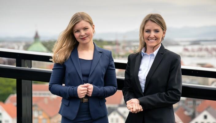 - Konsesjonsprosessen vil fortsatt være tidkrevende - og vi må nok forvente at det går noen år før vindparker i Sørlige Nordsjø II og Utsira Nord er i drift, sier Camilla Grytten og Siv Veronika Madland i Kluge.