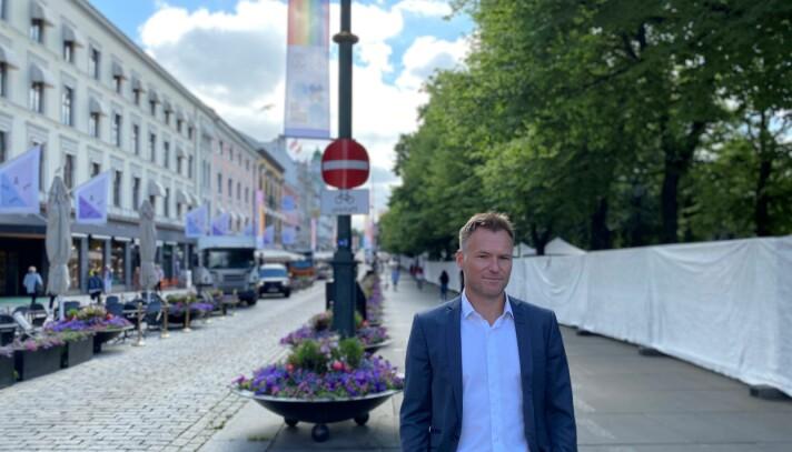 Spikersuppa i Oslo er rigget for Pride.