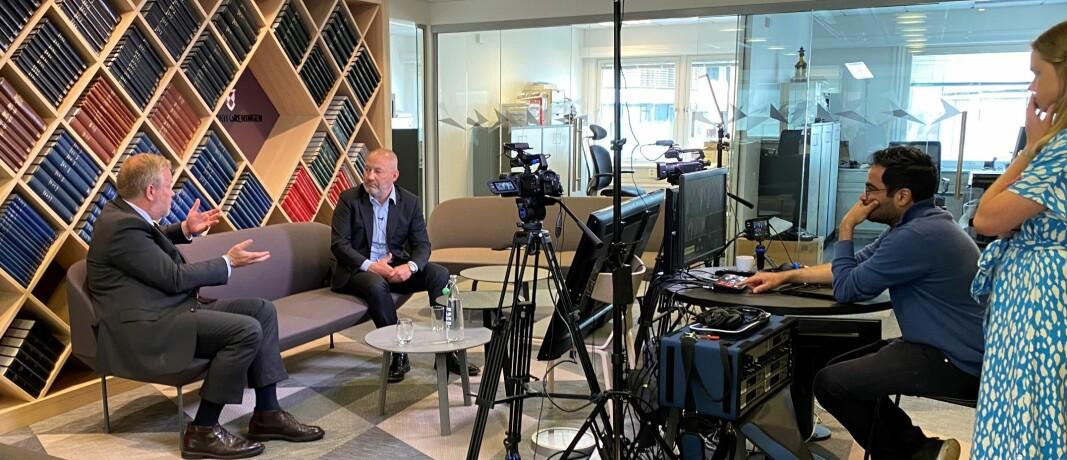 – Forslaget vil få praktiske konsekvenser for folk flest, ikke minst utenfor de store byene, sa Anders S. Christensen i møte med Jon Wessel-Aas.