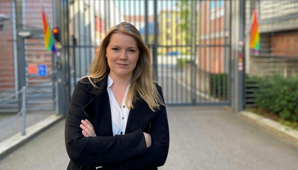 Katrine Holter.