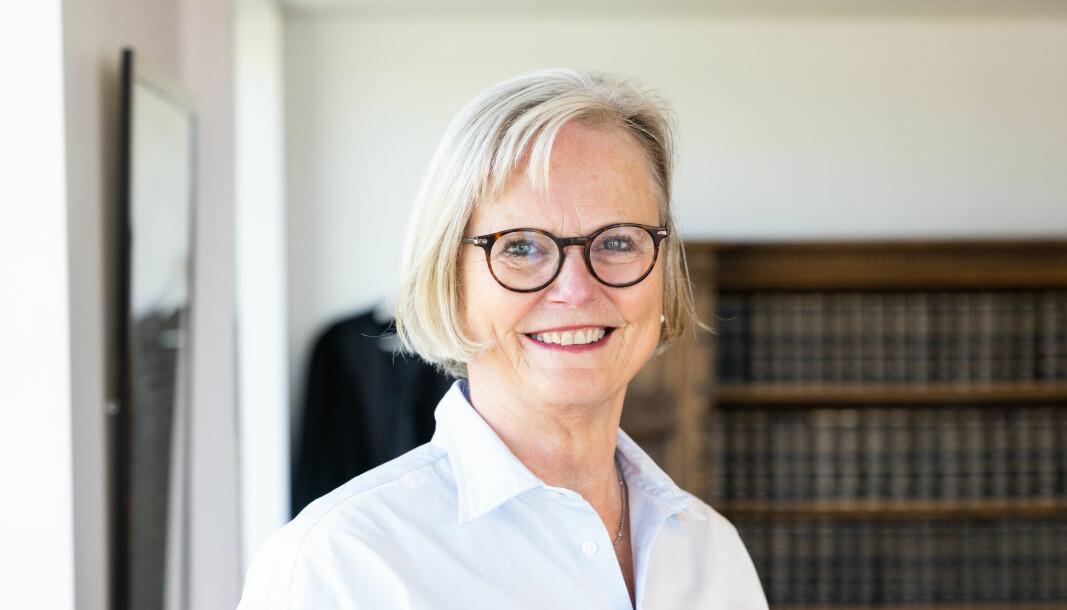 – Da jeg takket ja til å bli Tilsynsrådets styreleder, var det fordi jeg er opptatt av advokatetikk. Men jeg har ikke gått inn i styret med tanke om å skulle endre noe, sier Trine Buttingsrud Mathiesen.