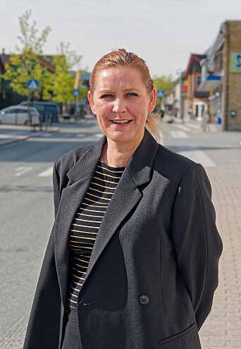 Advokat Jenny Smolan i Orkanger sentrum.