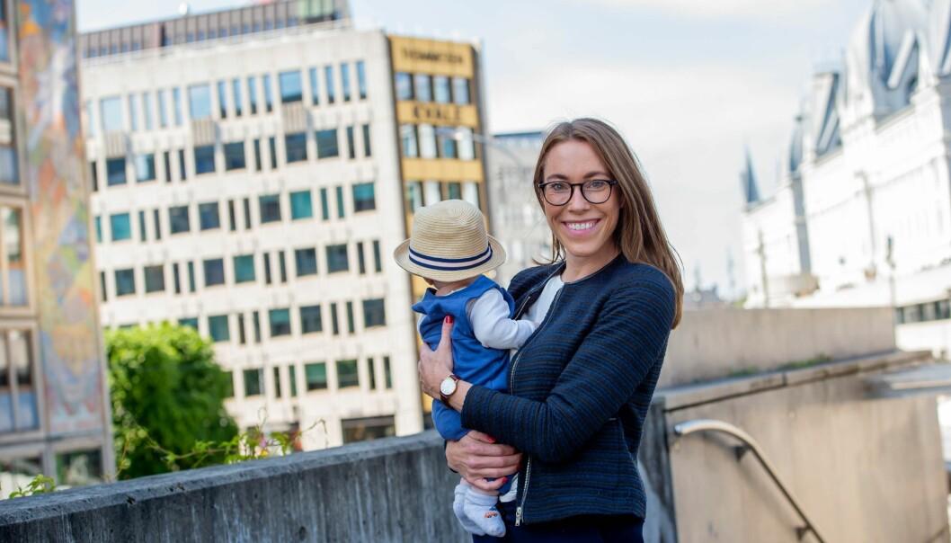 - Vi har et uttalt mål om at det skal være mulig å kombinere partnerstilling med et familieliv; inkludert småbarnstilværelsen, sier nyutnevnt Kvale-partner Stine Eriksrød.