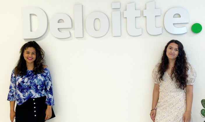 «Mitt mangfoldsavtrykk»-programledere Kimiya Sajjadi og Sevgi Usein.