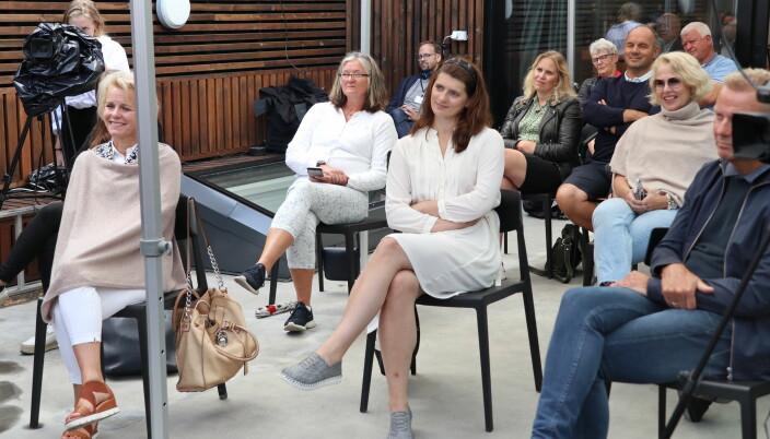Publikum fikk også anledning til å stille spørsmål til paneldeltakerne.