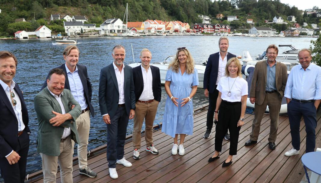 Finn Magne Prydz, Jens Christian Johansen, Harald Fosse, Kristian Brandt, Ola A. Hermansen, Liv Zimmermann, Sigve Braaten og Jørn A. Uggerud er blant Hjort-advokatene som er å se i Arendal denne uken.