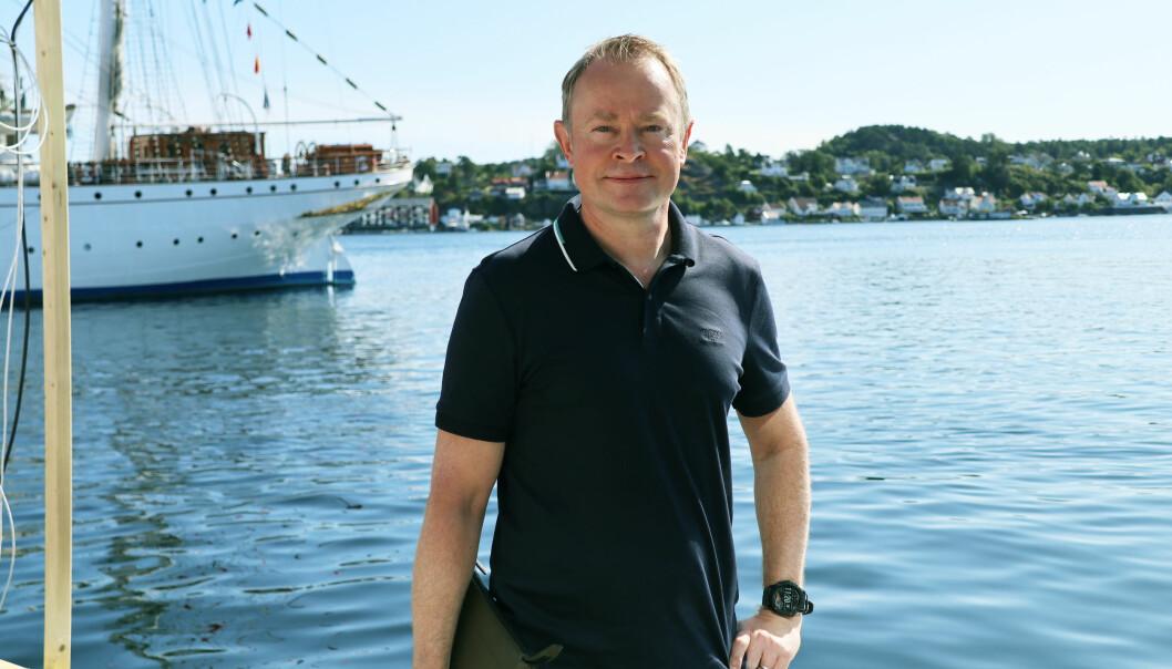 Jens Naas-Bibow er en av to advokater i 1,5 Advokatfirma som startet opp tidligere i år.