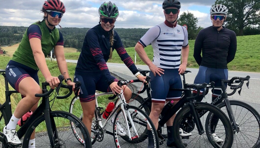 Seks av etappene over fjellet ble syklet av Tabea Wende, Maria Dammen, Didrik Maltun og Kristian Killingberg .