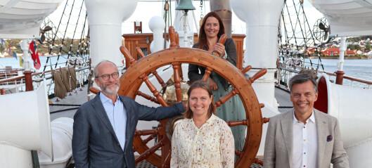 Wikborg Rein har en hånd på rattet i verdensomspennende hav-ekspedisjon