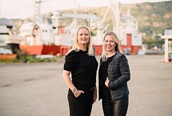 Cecilie Koch Hatlebrekke og Linda Rudolfsen Myklebust.