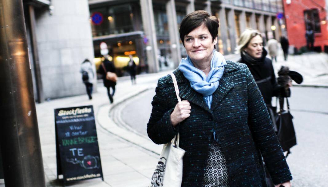 - Jeg snakker jo nordnorsk, og ikke så veldig utydelig, sier Mette Yvonne Larsen.