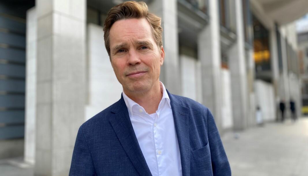 Marius Dietrichson er fortvilet over nyheten om at regjeringen ikke vil øke salærsatsen for 2022.