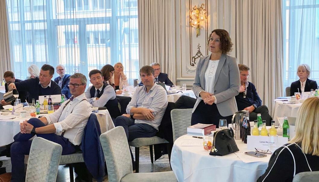 Representantskapet var i forrige uke samlet til møte i Oslo. Stående leder av Vestland krets, Ingelin Morken Gundersen.