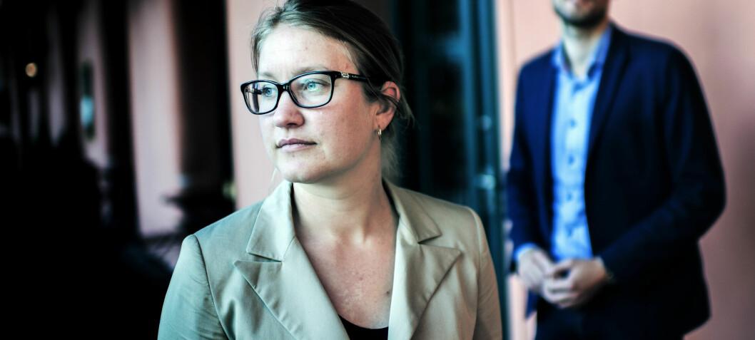 - Urovekkende at én av fire kvinnelige advokater opplever at de ikke har samme muligheter som menn på arbeidsplassen