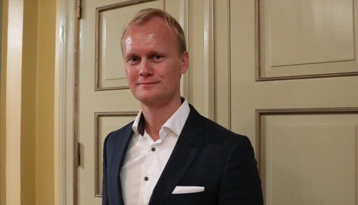Jussprofessor Hans Fredrik Marthinussen ved Universitetet i Bergen.