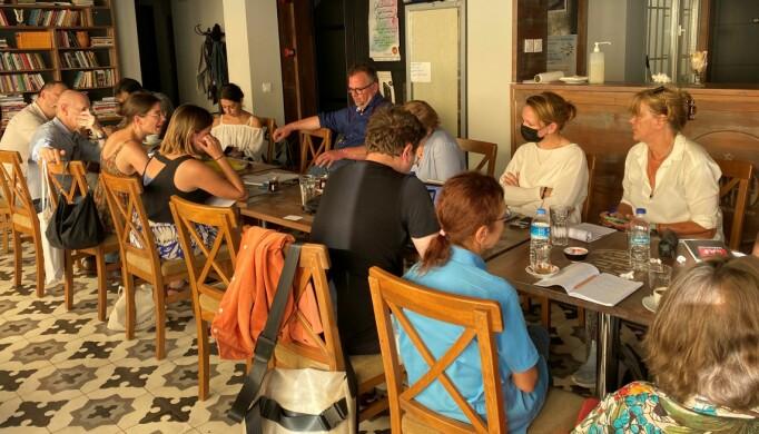 «Fact finding mission» med advokater fra åtte land