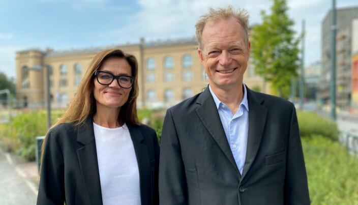 Anne Marie Due og Christopher J. Helgeby i Hjort.