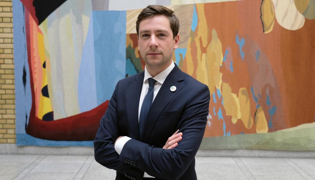 Andreas Unneland ble nylig valgt som SVs nye justispolitiske talsperson.